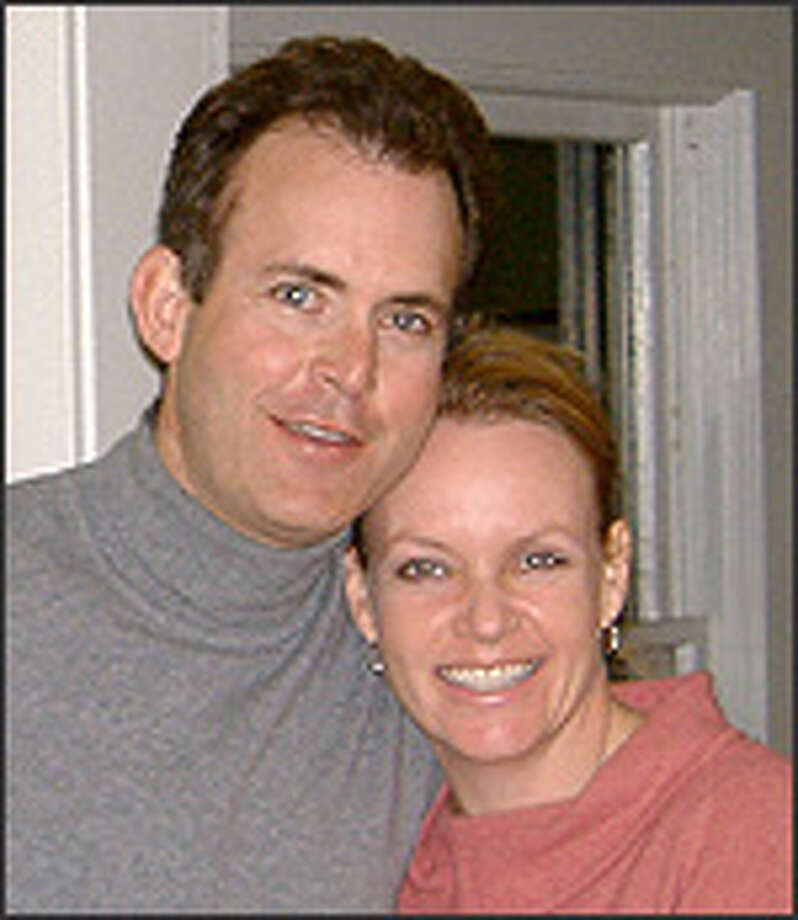 James Scragg and his wife, Stacey Baker
