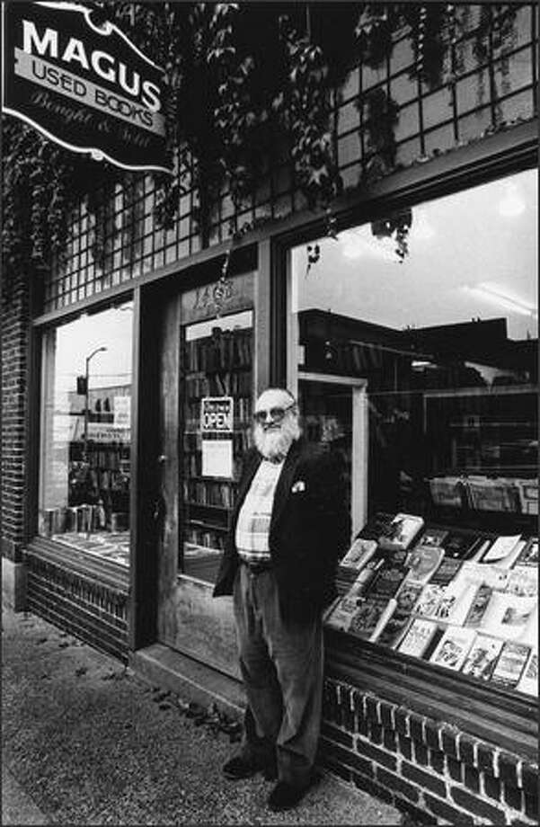 David Bell, who owned Magus Books for decades and died almost two years ago, willed $700,000 to UW Libraries' special collections Photo: Courtesy Of R. Vize/1993