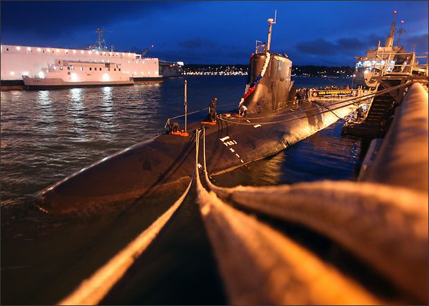 Capitol Honda Service >> Navy's fast-attack submarine signals new mission in ...