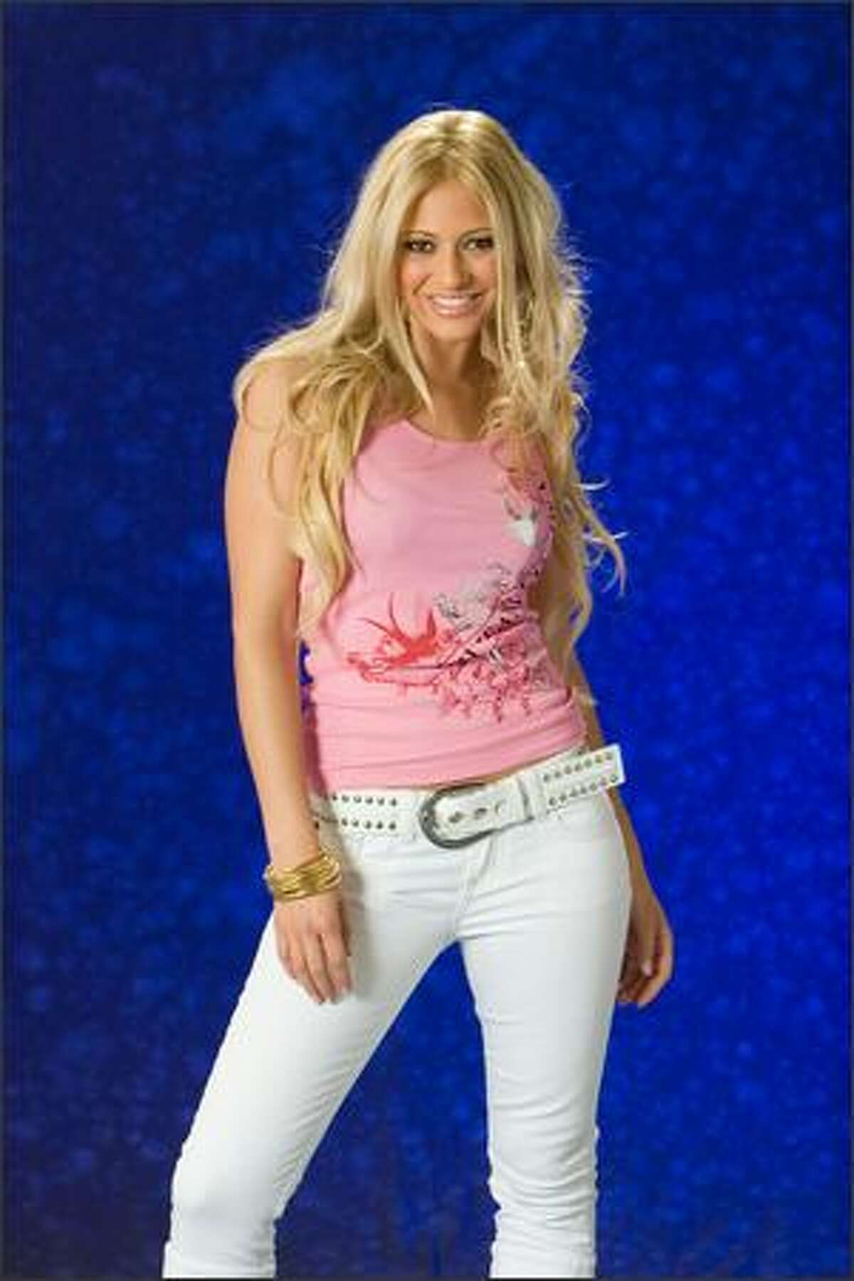 Christa Rigozzi, Miss Switzerland 2007.