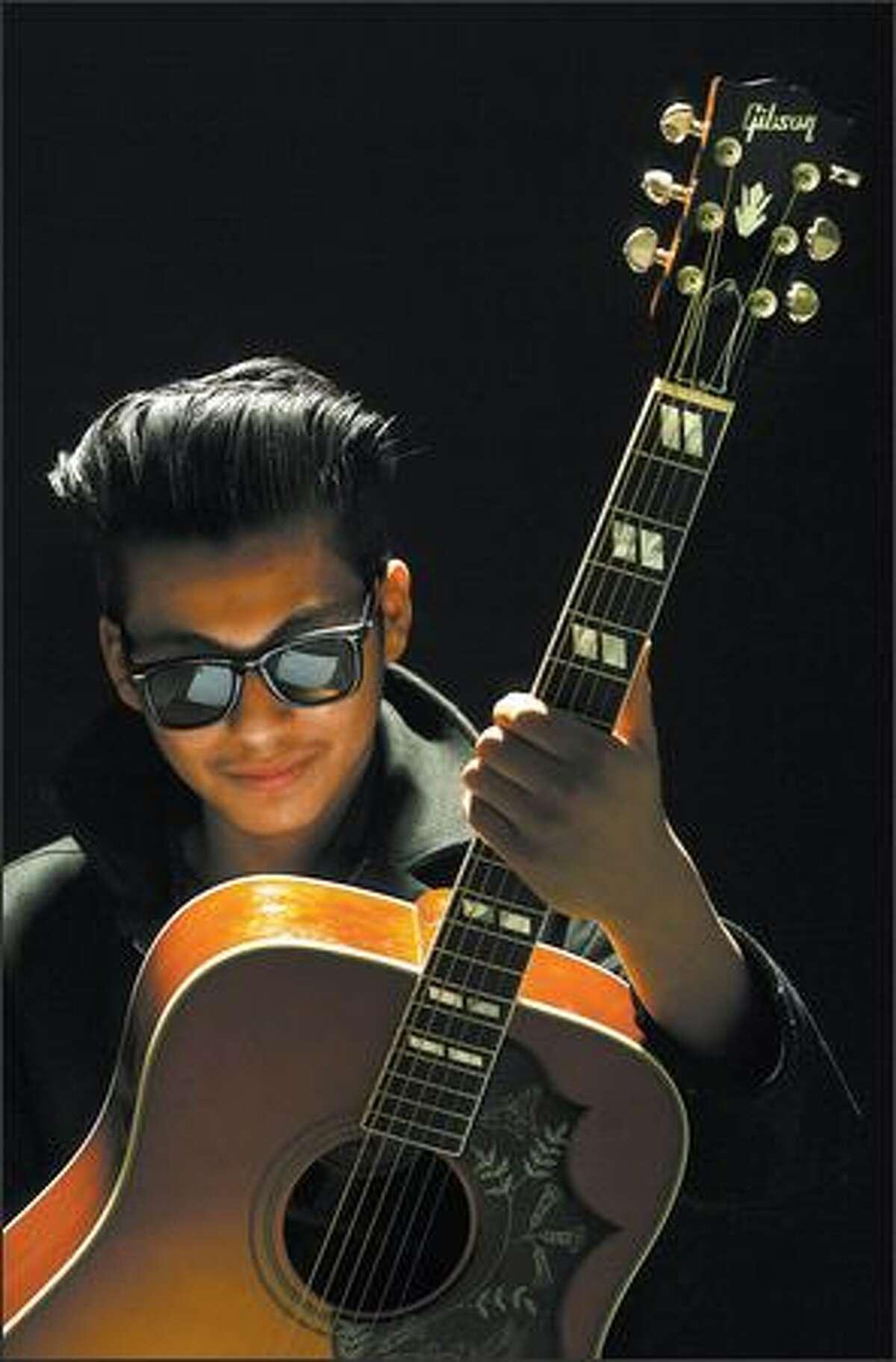 Musician Vince Mira.