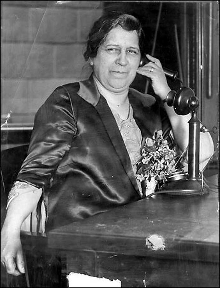 First woman mayor, 1926: Bertha K. Landes was elected mayor of Seattle, a first in a large metropolitan city. Landes ran on a platform promising to clean up the city and tapped voter disgust of vice and corruption. Immediately after taking office, Landes asked citizens to turn in bootleggers and asked police to enforce the dance hall rules. In 1928, Landes lost her re-election bid to a virtual unknown. Photo: Seattle Post-Intelligencer