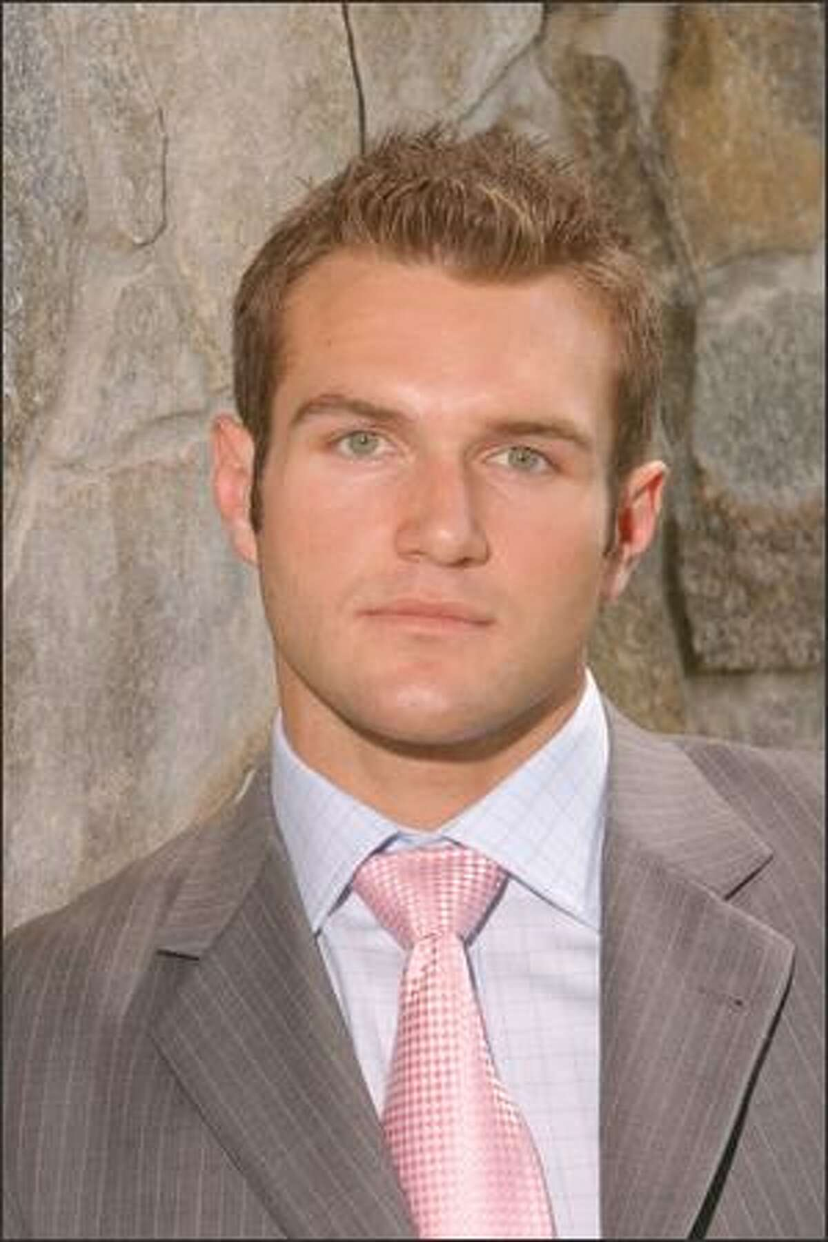John Willenborg, 30, marketing director, San Francisco: John graduated from the University of California at Berkeley in 2003. While at Cal, John won three division one national titles in rugby. After graduation, John submitted a business plan to an Automotive Magazine, The Rodder's Journal, where he was then hired as marketing director. John also co-founded a real estate development company in San Francisco, and is currently in the midst of a number of projects. When not at the office, John spends the majority of his free time with his other passion, auto racing.