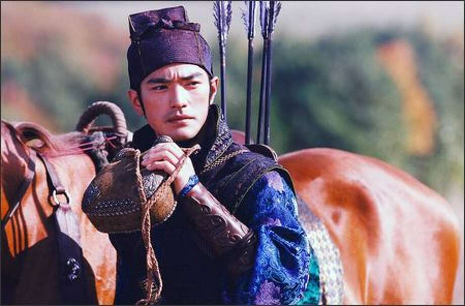 One of the most sought-after male leads in Asia, half-Taiwanese, half-Japanese Takeshi Kaneshiro (Jin) began his rise to stardom at age 15 when he was recruited to be a Taiwanese pop idol. A string of successful music hits followed. He made his film debut in 1993. Photo: Sony Pictures