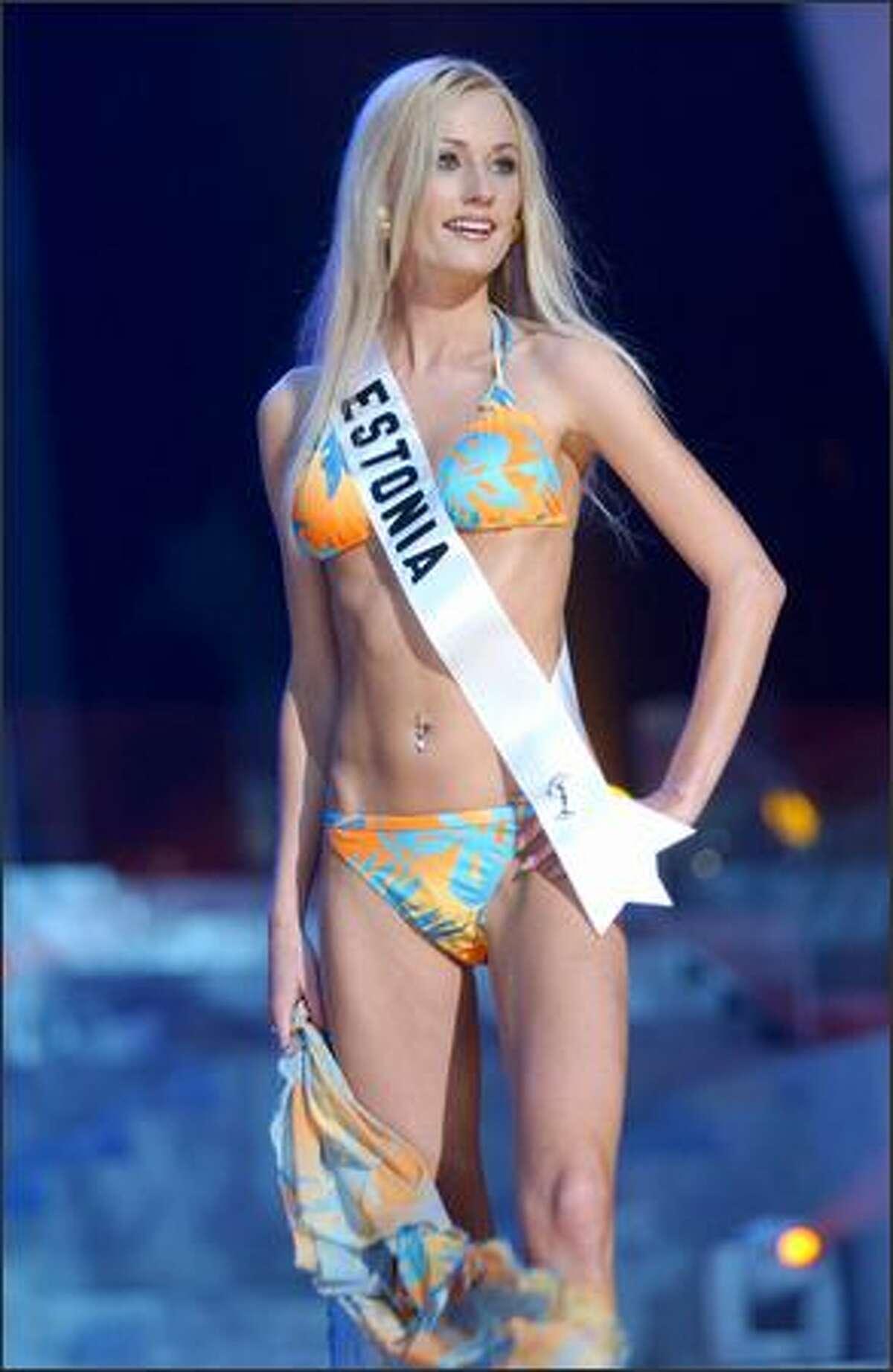 Sirle Kalma, Miss Estonia.