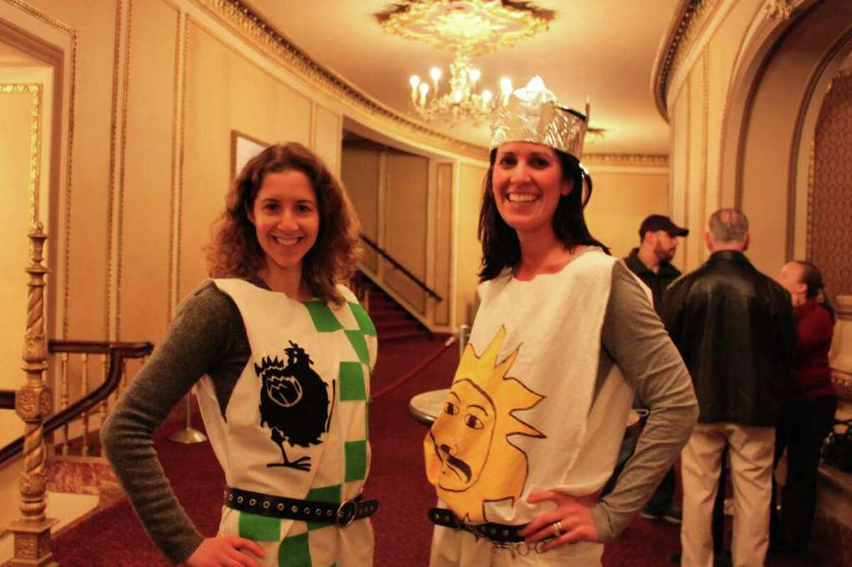 Were you seen at The Palace Theatre showing of Monty Python and the Holy Grail?