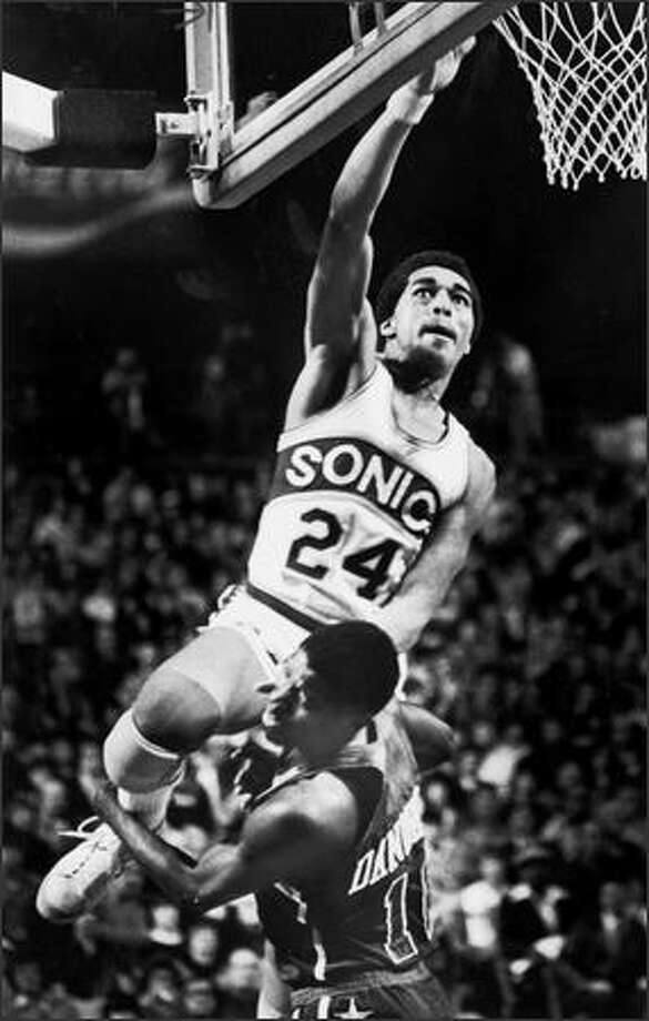 Seattle player Dennis Johnson in 1979. Photo: Seattlepi.com