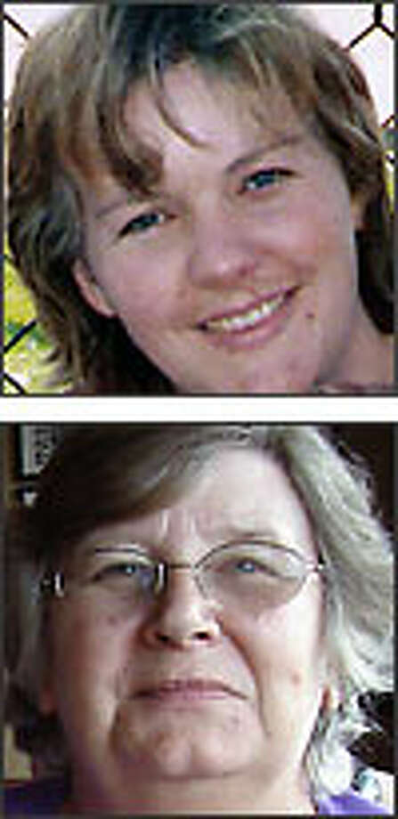 Top: Debbie Lynn Bonilla was fatally stabbed April 18.Bottom: Baerbel Roznowski was fatally stabbed May 3.Not shown: Tracey Lee Creamer was found strangled May 3.