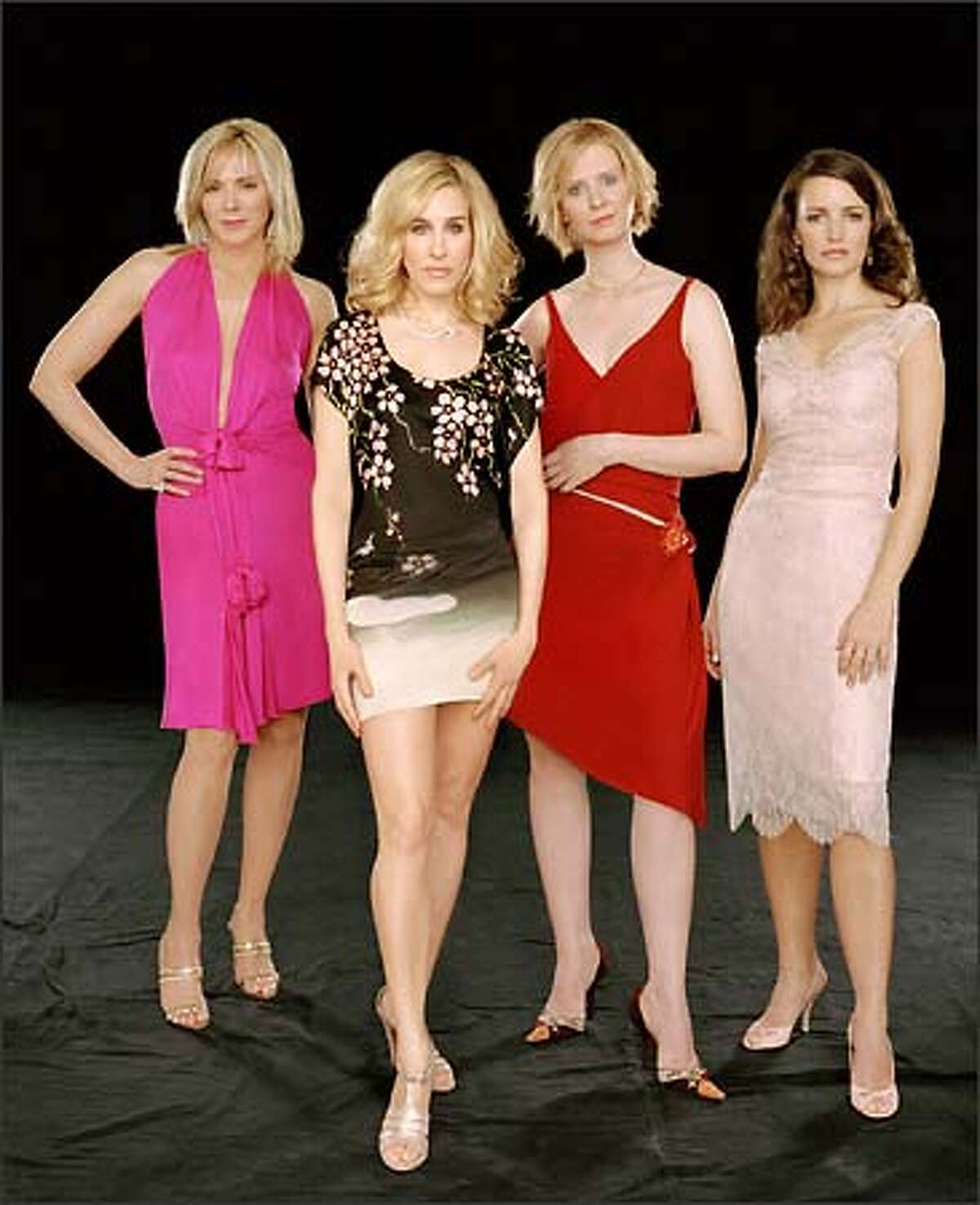 Samantha (Kim Cattrall), Carrie (Sarah Jessica Parker), Miranda (Cynthia Nixon) and Charlotte (Kristin Davis) are back for one more go-round as