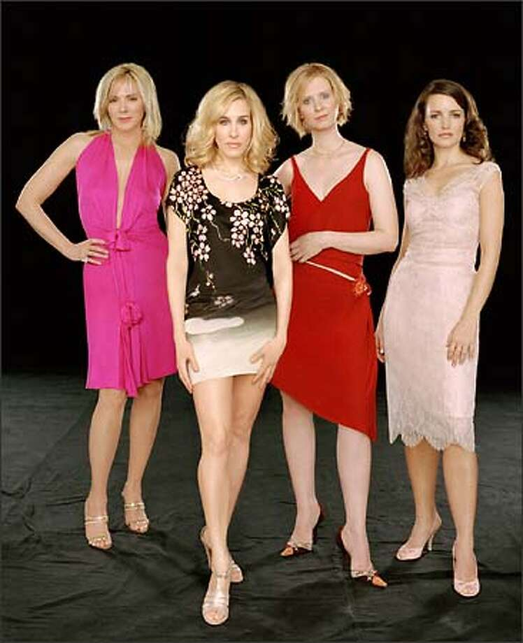 "Samantha (Kim Cattrall), Carrie (Sarah Jessica Parker), Miranda (Cynthia Nixon) and Charlotte (Kristin Davis) are back for one more go-round as ""Sex and the City"" enters its sixth and final season. Photo: HBO"