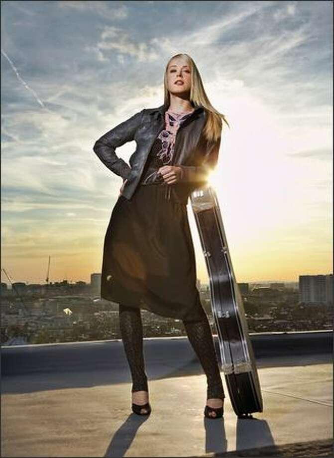 """Tina Dico left Denmark for England in 2002 in search of an international career. Six years later, she has found it. Her new album, """"Count to Ten,"""" is drawing rave reviews. Photo: /"""