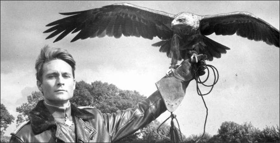 """John Phillip Law as Baron Von Richthofen in the 1971 movie """"Von Richthofen and Brown."""" Photo: United Artists"""