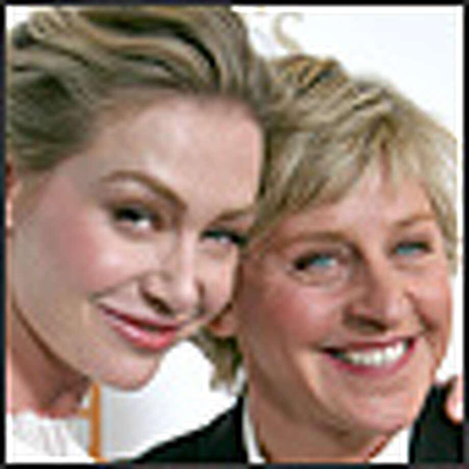 DeGeneres and de Rossi