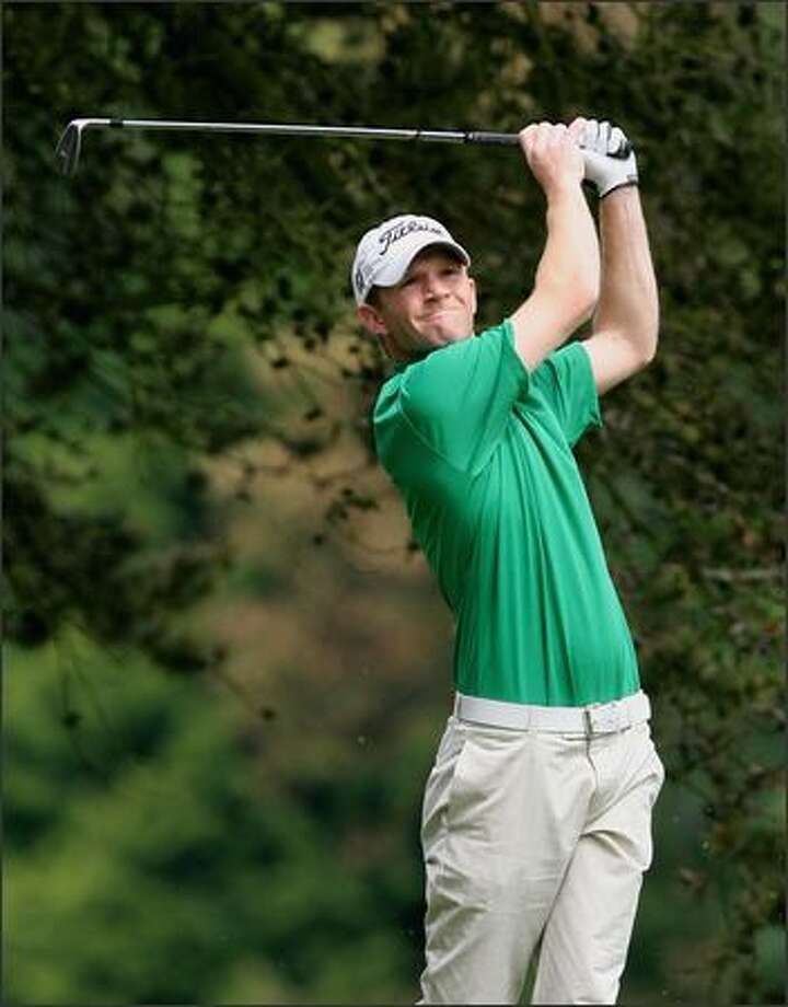 Tim Feenstra returns to defend his Washington Open Invitational title. He ran away with last year's event, winning by six strokes. Photo: Dan DeLong/Seattle Post-Intelligencer