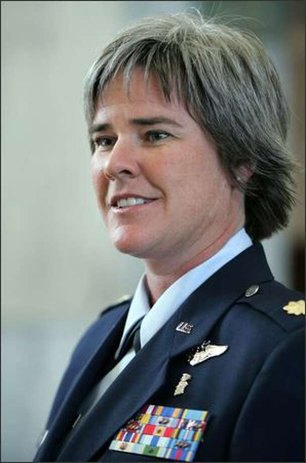 Air Force Reservist Maj. Margaret Witt will get another chance to argue she should not have been fired. Photo: /