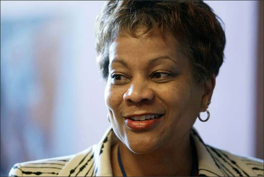 Seattle Public Schools chief Maria Goodloe-Johnson wants to improve the district's infrastructure, strengthen academic performance and create strong leaders. Photo: /