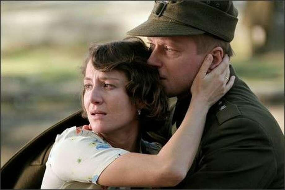 """""""Katyn,"""" an Oscar nominee last year, is a World War II Holocaust drama. Photo: /"""