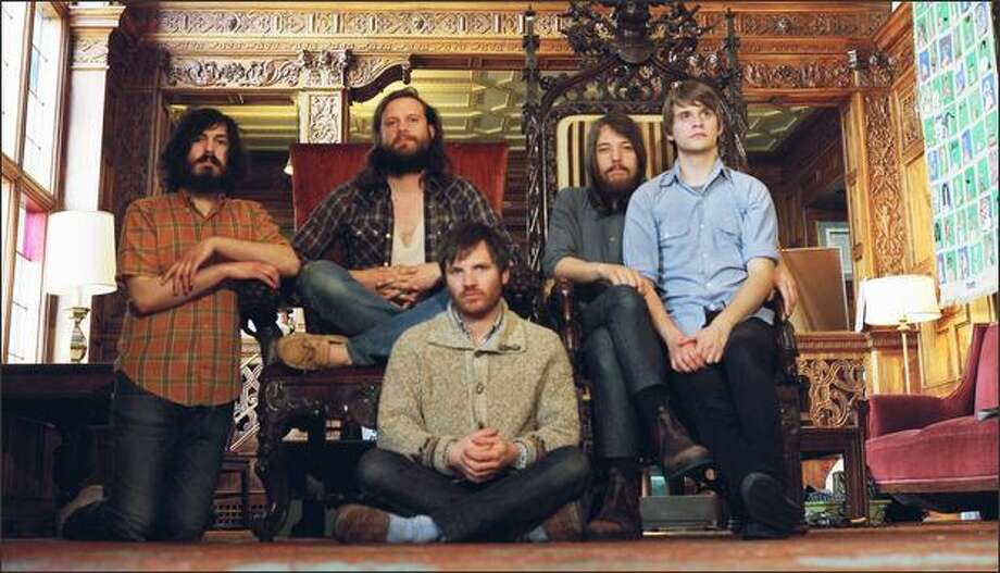 """Fleet Foxes call themselves """"not much of a rock band."""" The pop group combines hymn-like vocal harmonies and gorgeous melodies with a dreamy vibe and folk-rock sensibilities. Photo: / David Belisle"""