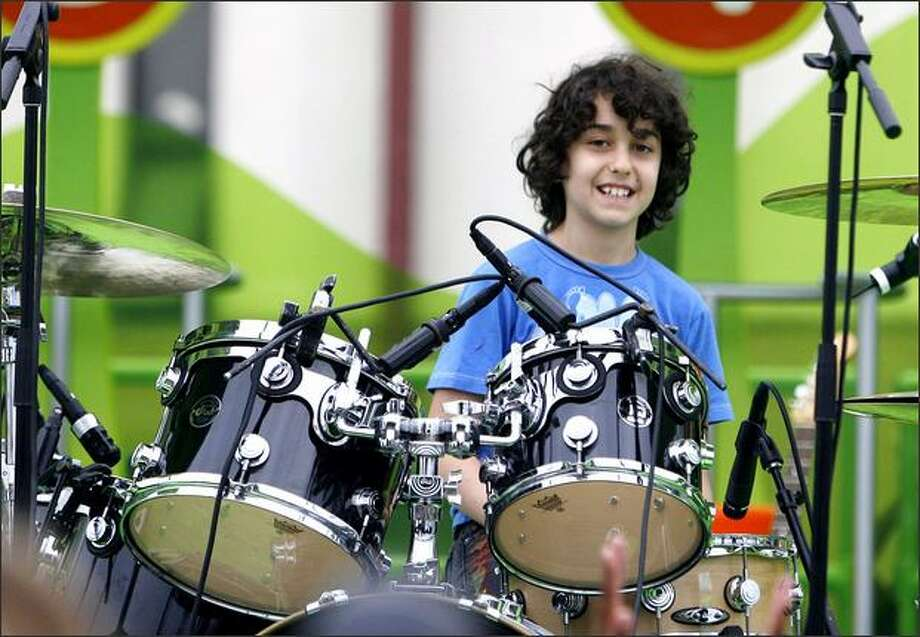 Alex Wolff of the Naked Brothers Band performs in New Orleans on May 17. Photo: / Getty Images