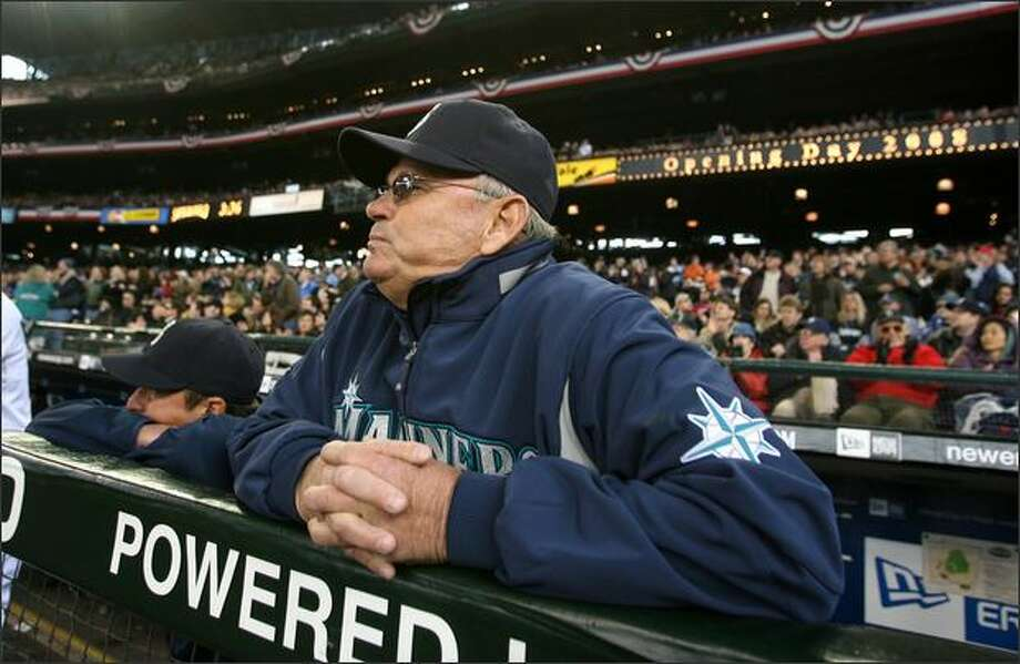 Manager John McLaren is taking the heat, and fully accepts responsibility, for the Mariners' dismal 5-19 record in May that ran contrary to spring optimism. Photo: Scott Eklund/Seattle Post-Intelligencer