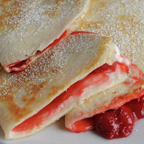Fruit-Filled Quesadillas (Lori Van Buren / Times Union) Photo: Lori Van Buren