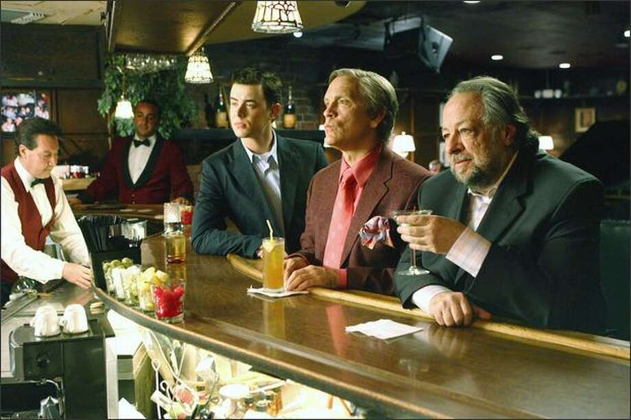 """The Great Buck Howard,"" with, from left, Colin Hanks, John Malkovich and Ricky Jay. Photo: /"