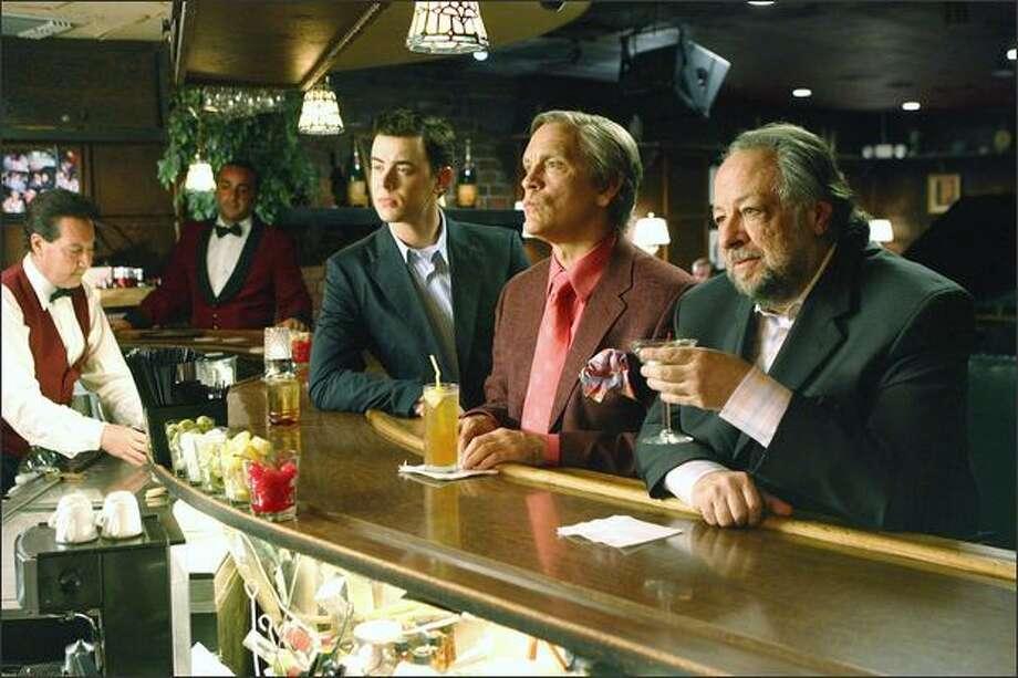 """The Great Buck Howard,"" with, from left, Colin Hanks, John Malkovich and Ricky Jay. Photo: /"