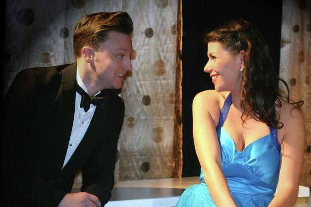 "Johnny Orenberg and Jillian Schochet are two of the stars of ""My Way: A Musical Tribute to Frank Sinatra"" opening Friday, April 1 at the Music Theatre of Connecticut in Westport. Photo: Contributed Photo / Connecticut Post Contributed"