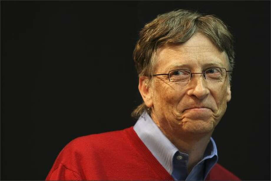 """""""He's the guy who founded the culture, but the culture now thrives on its own,"""" Tandy Trower said of his departing boss. """"I can remember from the very early days at Microsoft how inspiring Bill was ... ."""" Others say there were some downsides to Gates' brusque style of doing business. Photo: / Associated Press"""