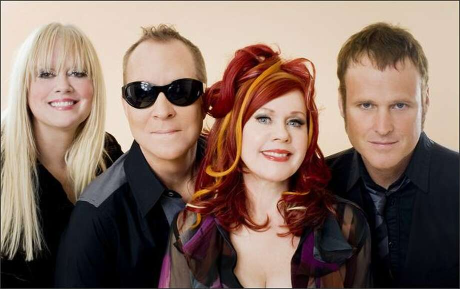 The B-52s partied together in Athens, Ga., before they played together across the globe. Photo: / Pieter M. Van Hattem