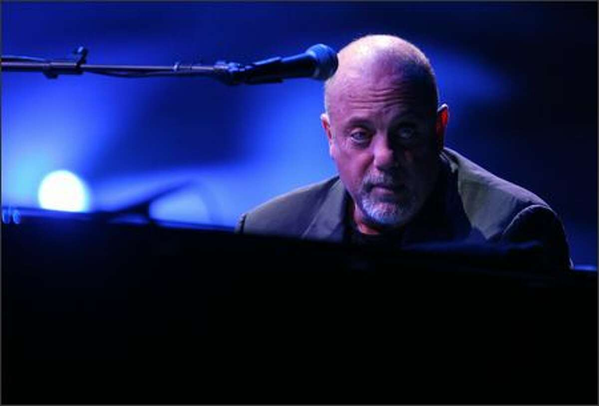 Billy Joel plays Key Arena in Seattle.