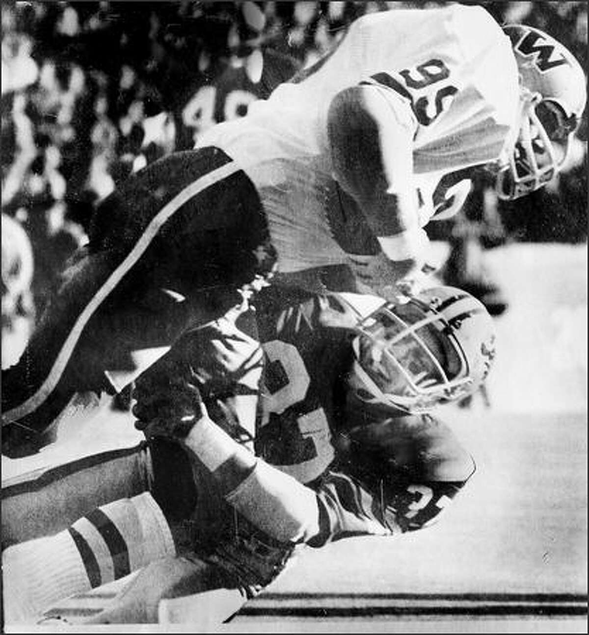 Omak Ken Greene (NFL): Greene, a defensive back, was a first-round pick out of Washington State in 1978 and played seven seasons in the NFL (1978-84). He played for the Rams and Chargers, starting in 73 of 98 career games.   Honorable mention: Don McCormack (MLB, 1980-81), Bob Picard (NFL, 1973-76)