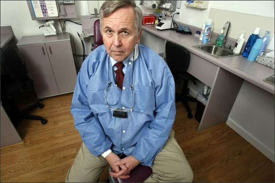 Fred Quarnstrom a Seattle dentist who recently resigned from the state's dental board, says the handling of three known dental-death cases raises questions about the consistency and thoroughness of the state's review process. Photo: Meryl Schenker/Seattle Post-Intelligencer