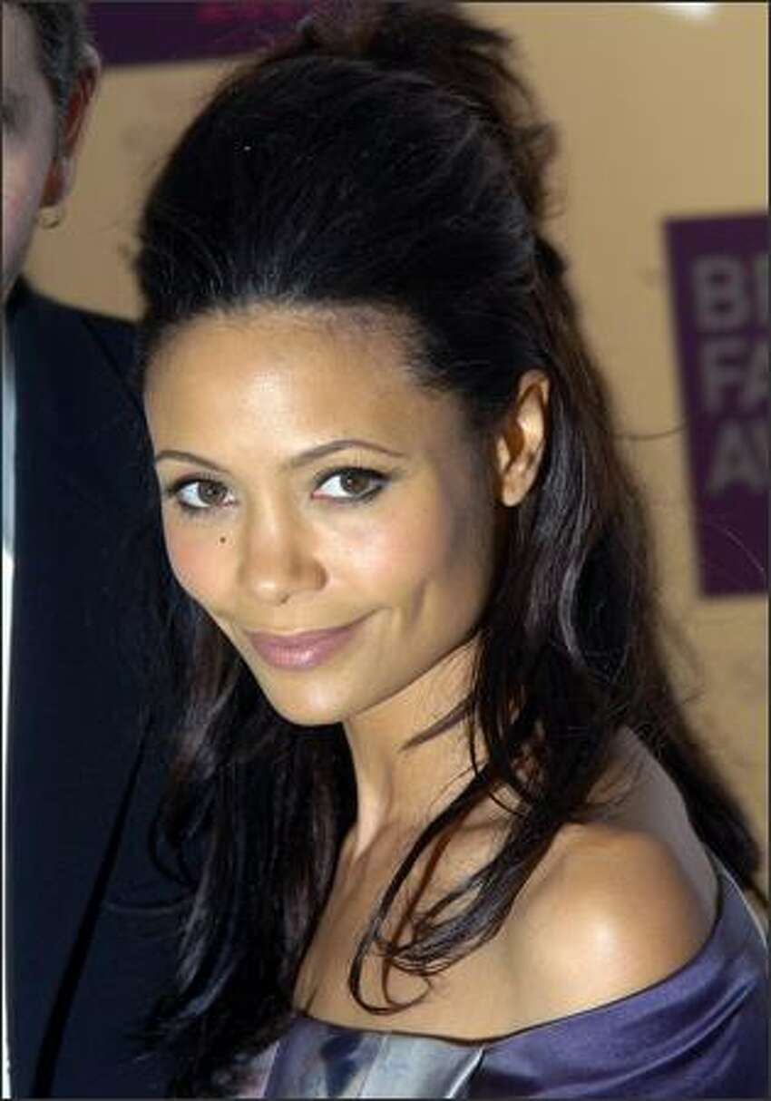 Thandie Newton arrives for the British Fashion Awards at the Royal Horticultural Halls on November 27, 2007 in London, England.