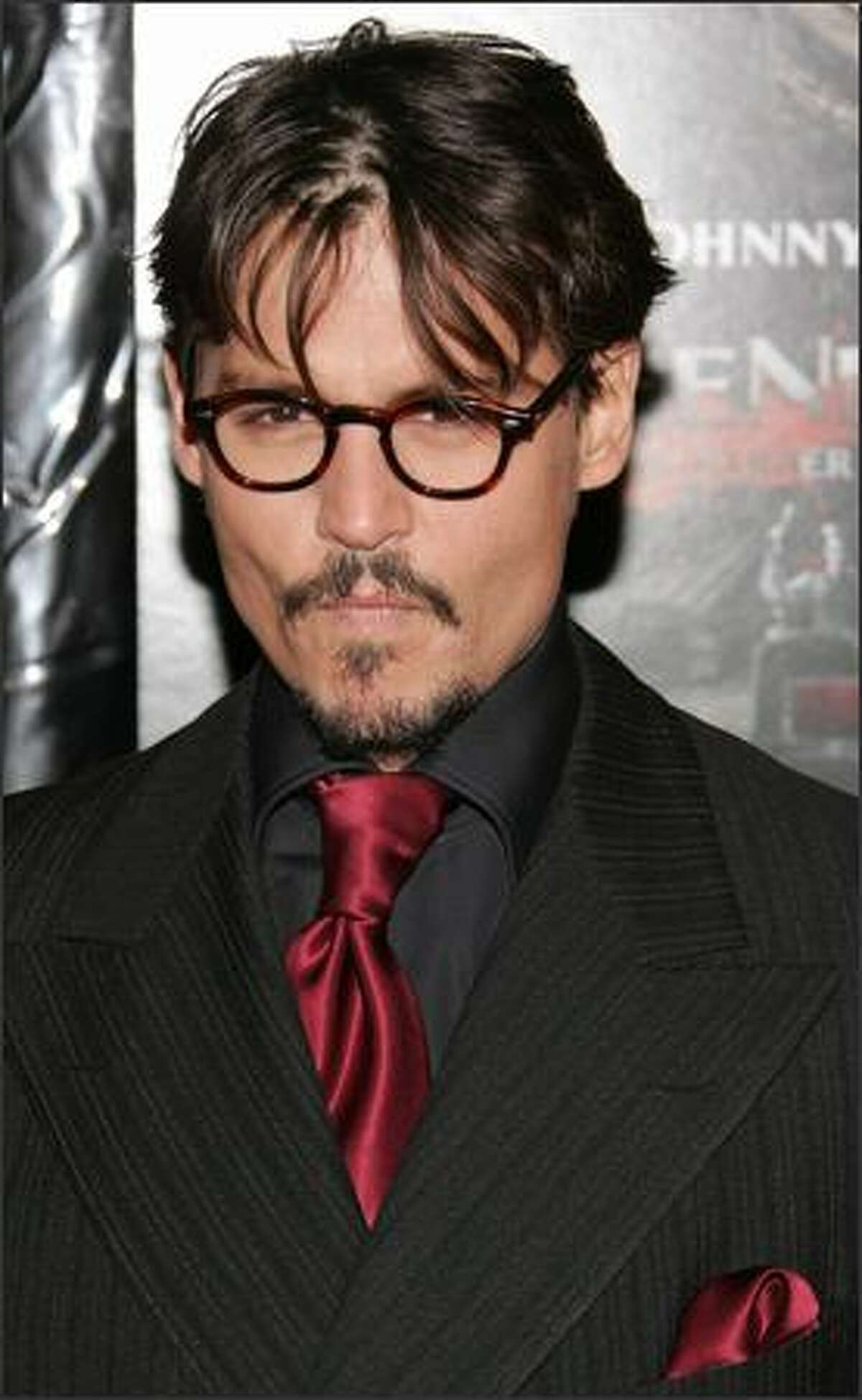 Actor Johnny Depp attends the New York premiere of