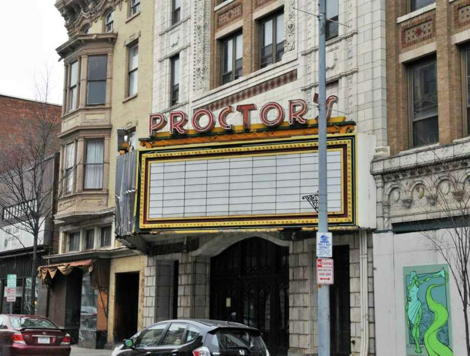 Exterior of the old Proctor's theater on 4th Street in Troy Wednesday afternoon March 23, 2011.   (John Carl D'Annibale / Times Union) Photo: John Carl D'Annibale