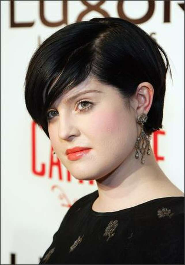 Kelly Osbourne arrives at the grand opening of the CatHouse at the Luxor Resort & Casino. Photo: Getty Images