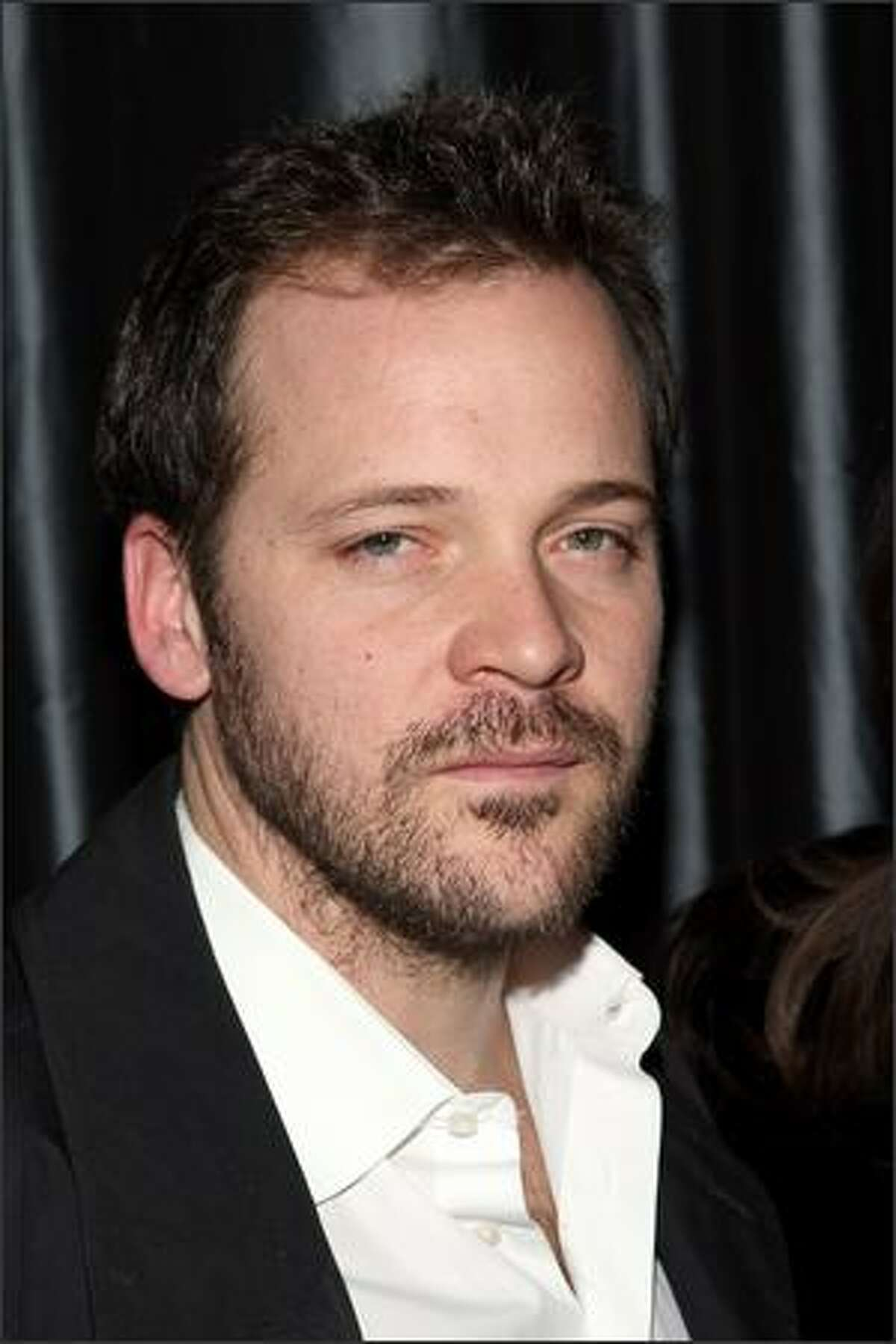 Actor Peter Sarsgaard attends the 2007 New York Film Critic's Circle Awards at Spotlight in New York City.