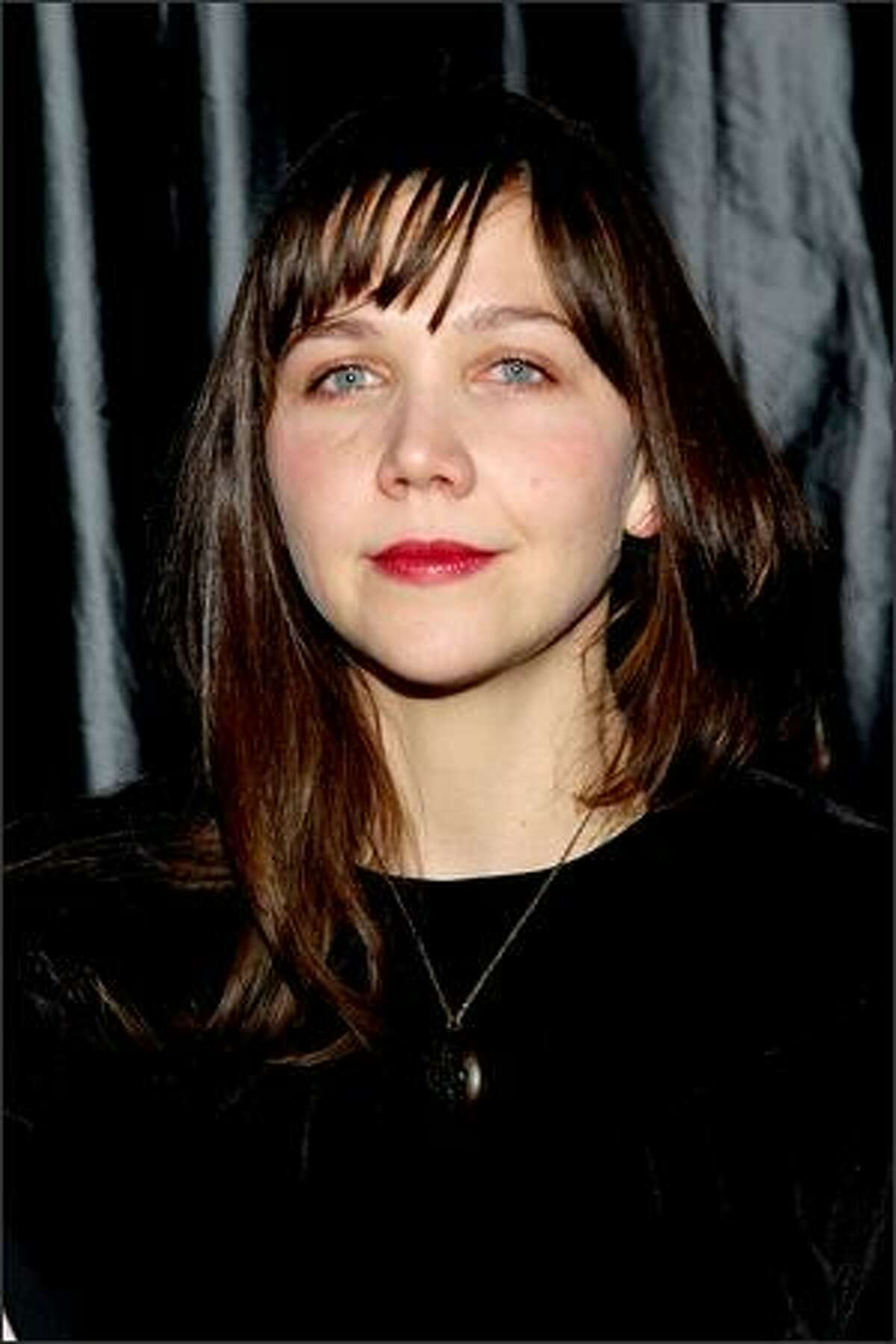 Actress Maggie Gyllenhaal attends the 2007 New York Film Critic's Circle Awards at Spotlight in New York City.