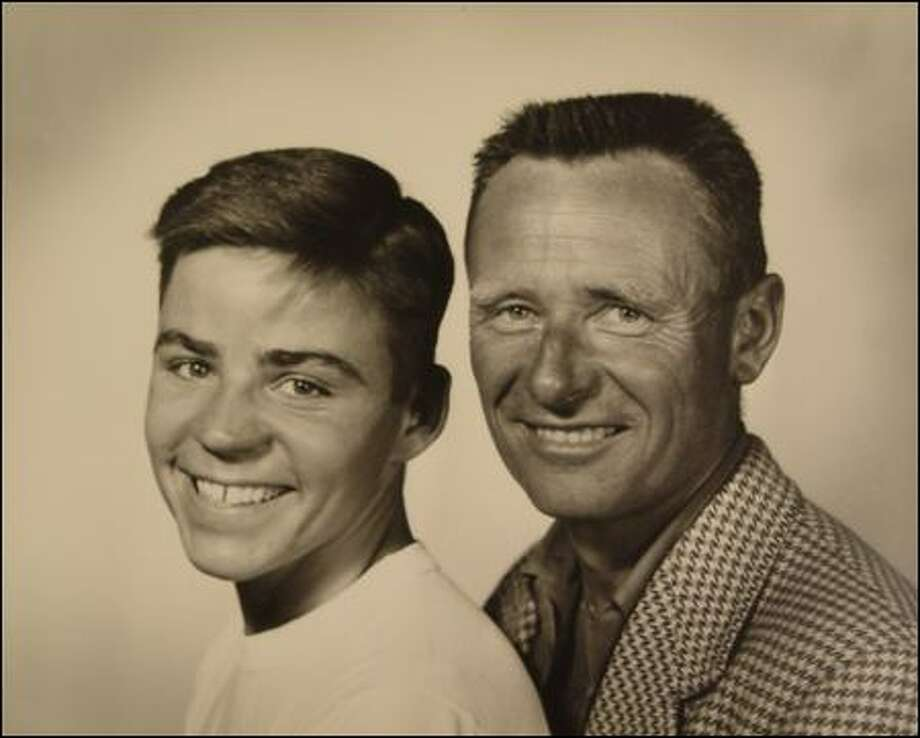 Don Bachardy and Christopher Isherwood