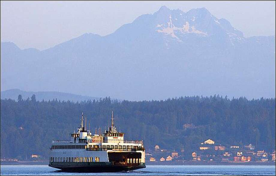 Vashon Island, pictured in the distance. Photo: Mike Kane/Seattle Post-intelligencer Photo