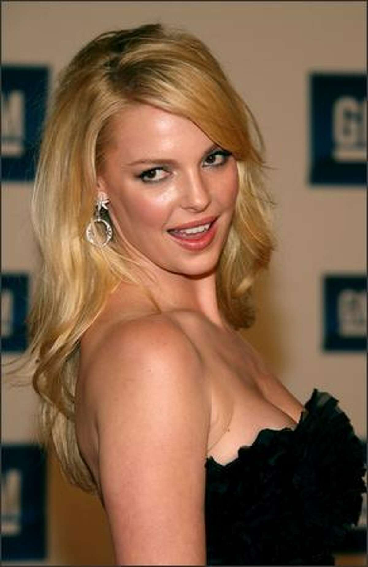 Actress Katherine Heigl arrives at the 6th Annual General Motors TEN event at Paramount Studios on Feb. 20, 2007 in Los Angeles.
