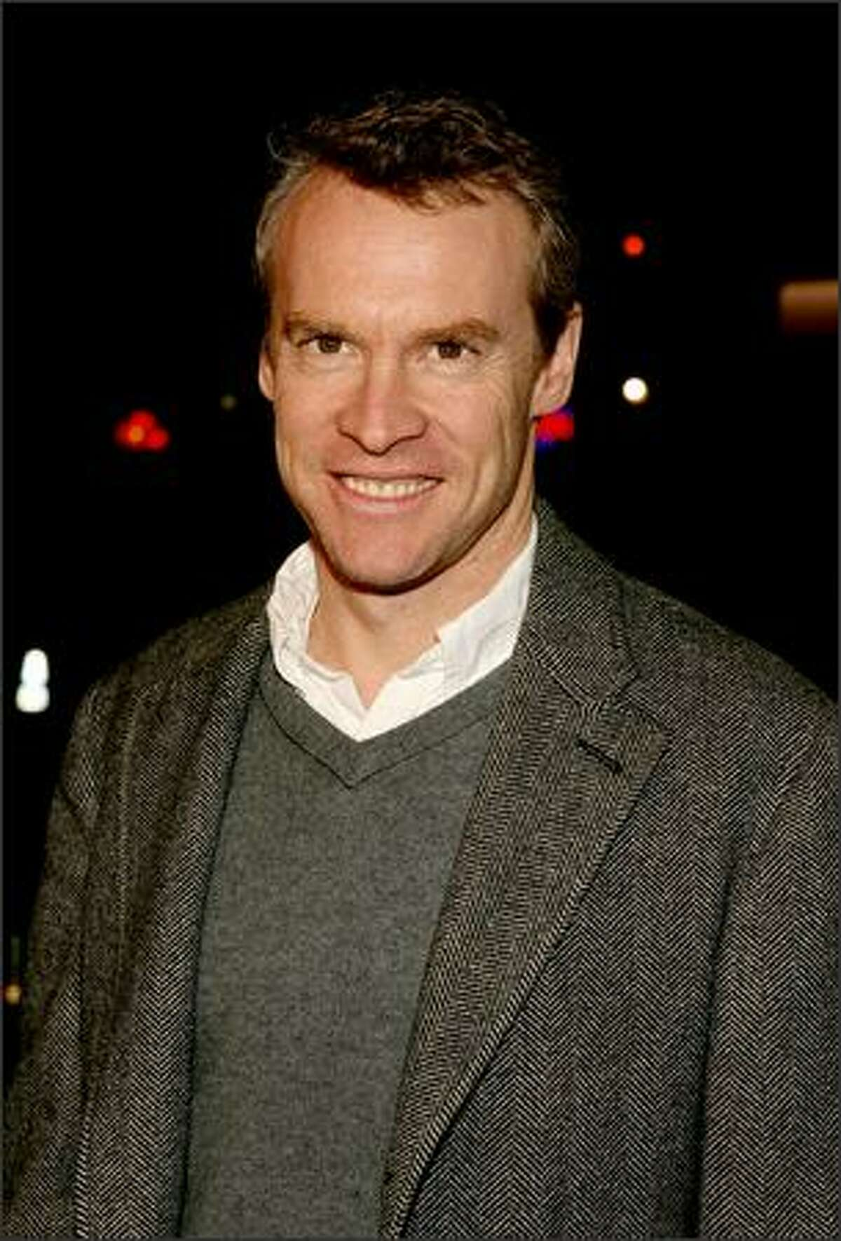Actor Tate Donovan arrives at the premiere of Overture Films'