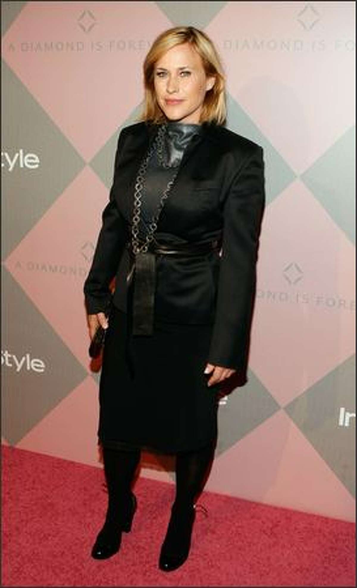 Actress Patricia Arquette attends the Diamond Information Center and InStyle Diamond Fashion Show Preview Luncheon at the Beverly Hills Hotel in Beverly Hills, Calif.