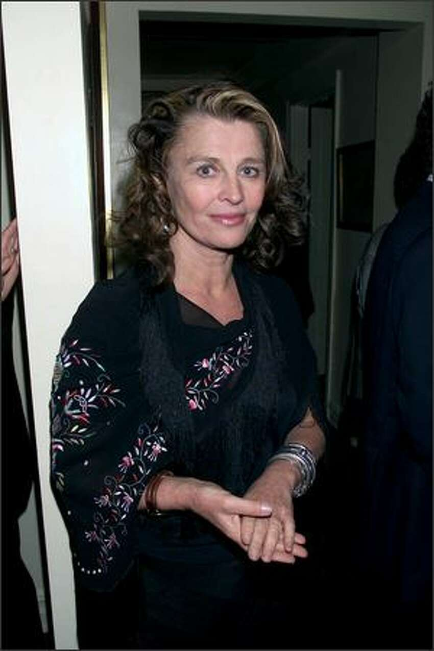 2001: Julie Christie at the post-screening party for