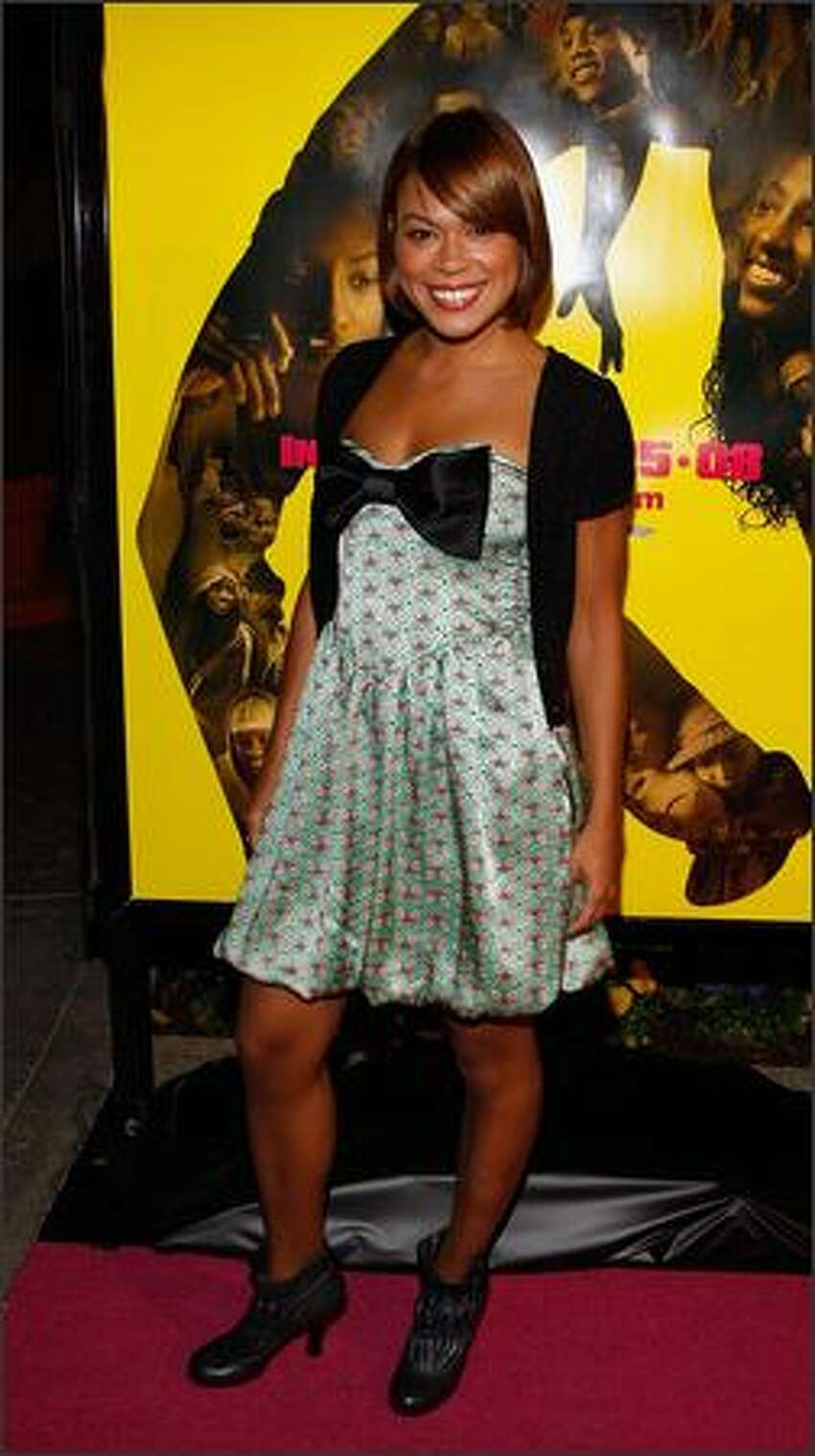 Actress Toni Trucks attends the premiere of