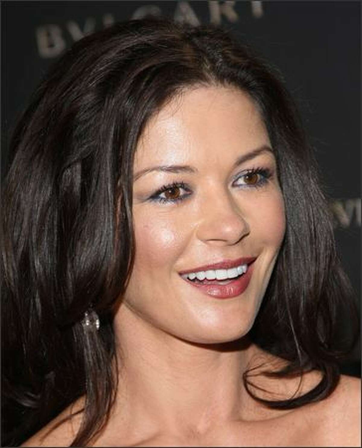 Actress Catherine Zeta Jones.
