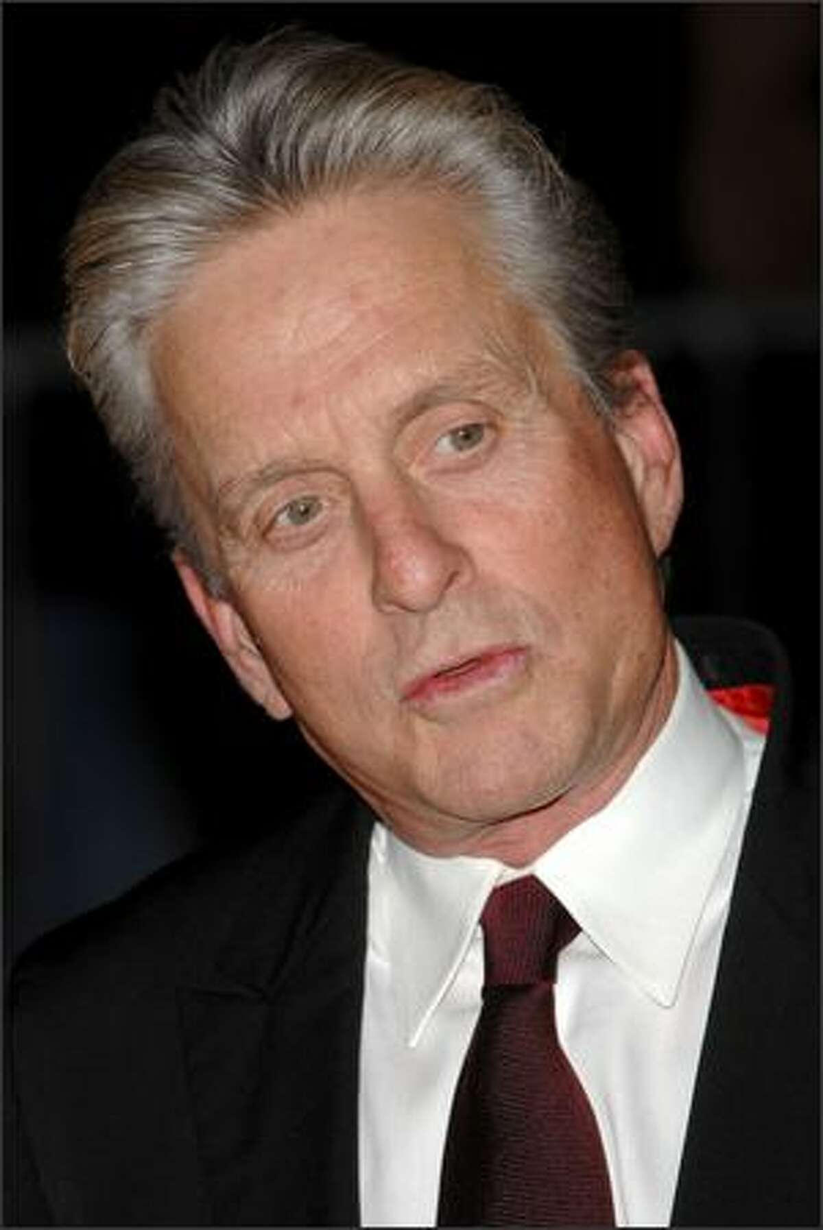 Actor Michael Douglas.