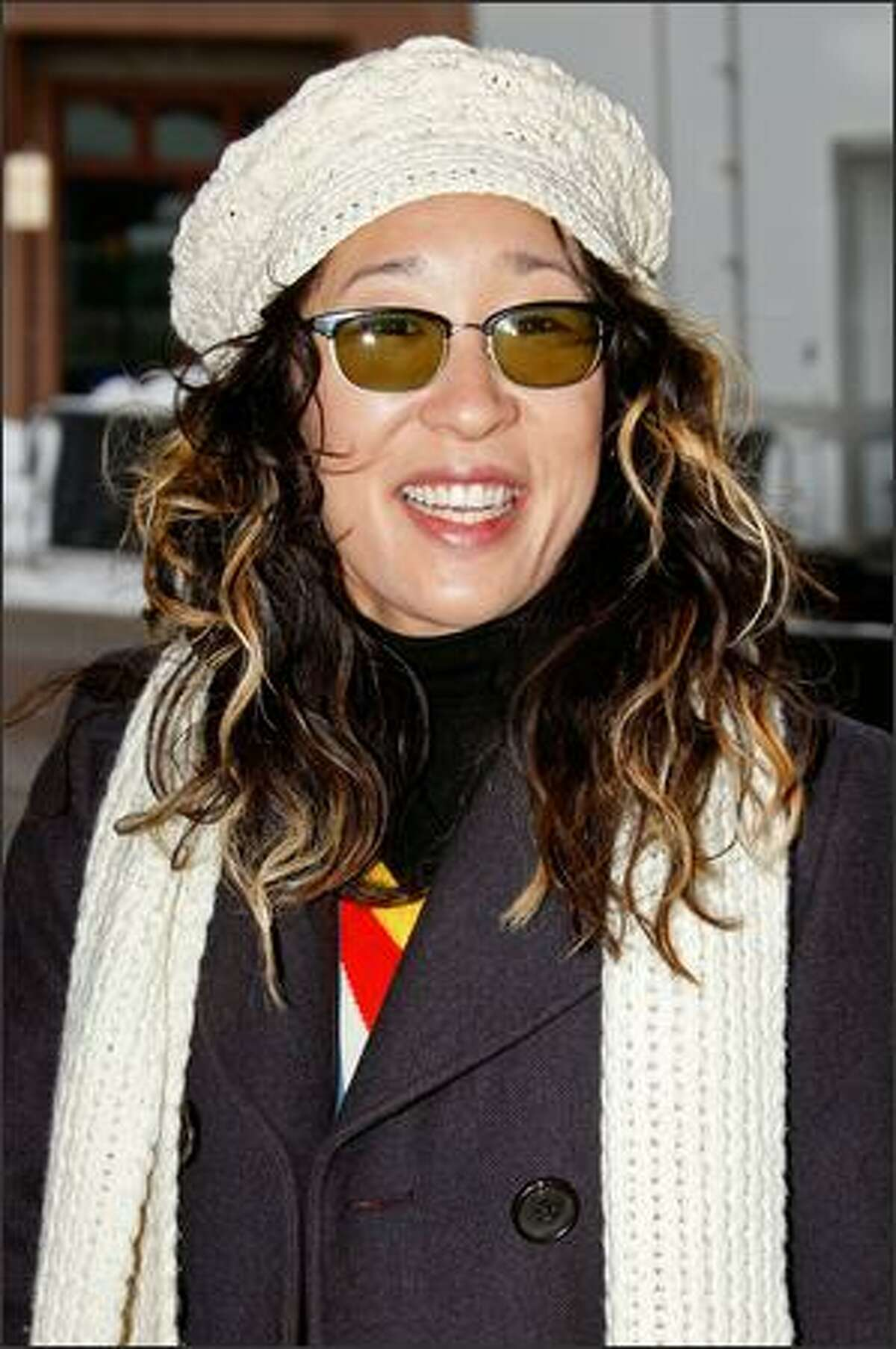 Actress Sandra Oh in Park City.