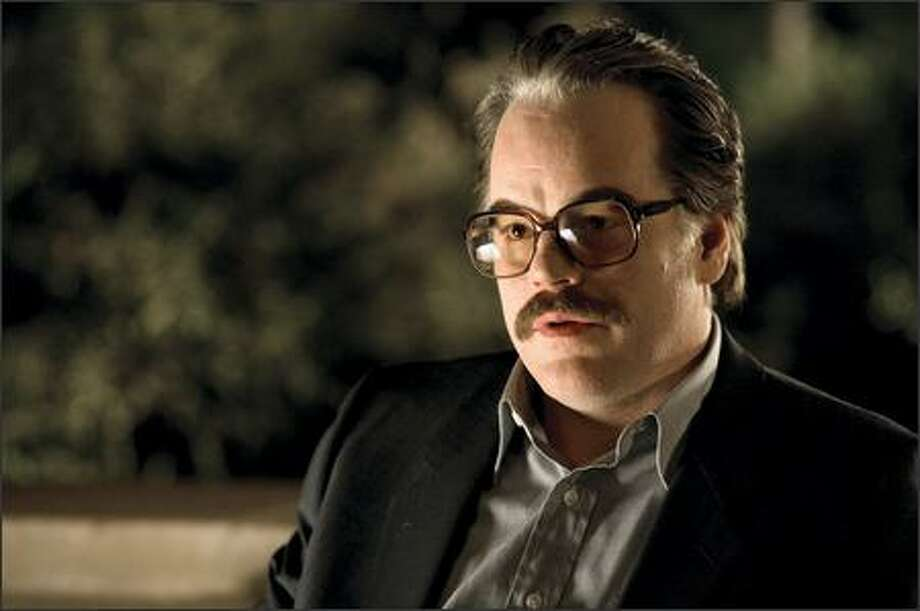 "Philip Seymour Hoffman was nominated for best supporting actor for his role as CIA agent Gust Avrakotos in ""Charlie Wilson's War."" Photo: Universal Pictures"